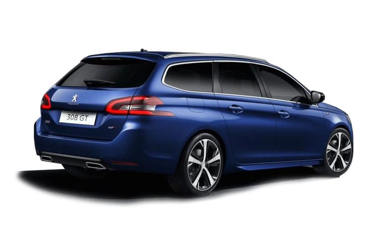 Peugeot 308 SW 5Dr 1.2 PureTech 110PS Allure 5Dr Manual [Start Stop] back view