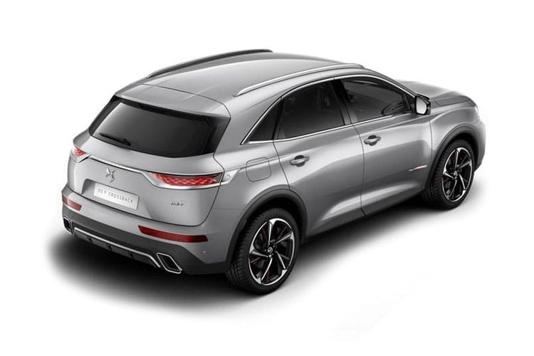 DS Automobiles DS 7 Crossback SUV 5Dr 1.6 E-TENSE PHEV 13.2kWh 225PS Performance Line + 5Dr EAT8 [Start Stop] back view