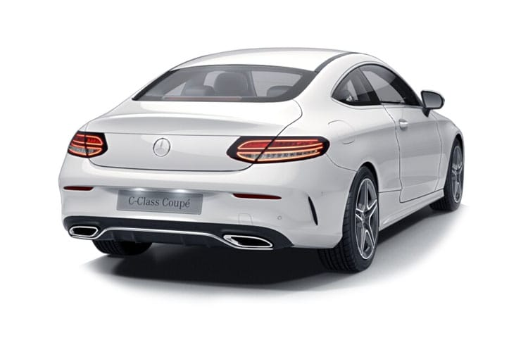 Mercedes-Benz C Class C220 Coupe 4MATIC 2.0 d 194PS AMG Line Premium Plus 2Dr G-Tronic+ [Start Stop] back view