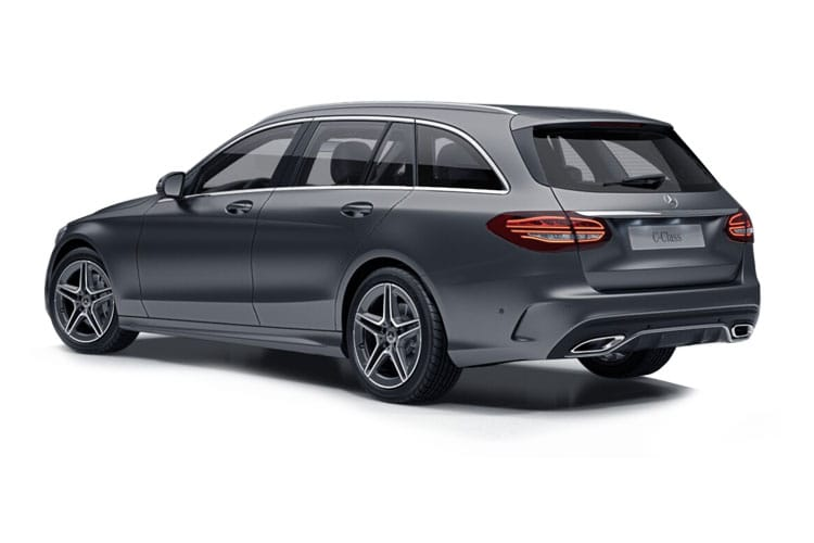 Mercedes-Benz C Class C220 Estate 2.0 d 194PS AMG Line Edition 5Dr G-Tronic+ [Start Stop] back view