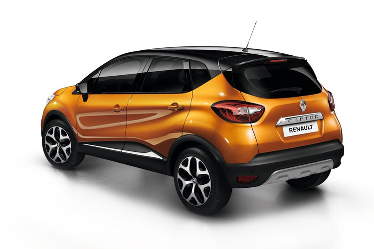 Renault Captur SUV 1.3 TCe 140PS S Edition 5Dr Manual [Start Stop] [Bose] back view