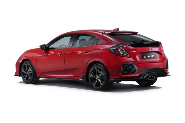 Honda Civic Hatch 5Dr 2.0 VTEC Turbo 320PS Type R Limited Edition 5Dr Manual [Start Stop] back view