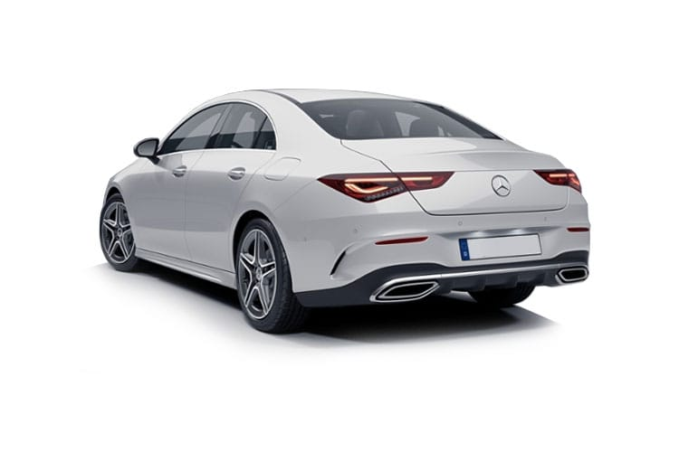 Mercedes-Benz CLA AMG CLA45 Coupe 4Dr 4MATIC+ 2.0  421PS S Plus 4Dr 8G-DCT [Start Stop] back view