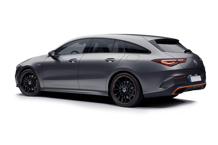 Mercedes-Benz CLA CLA220 Shooting Brake 2.0 d 190PS AMG Line 5Dr 8G-DCT [Start Stop] back view
