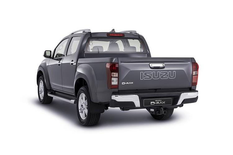 Isuzu D-MAX Pick Up 1.9 TD RWD 164PS Utility Pickup Manual back view