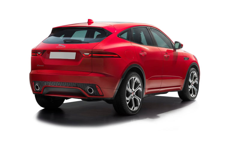 Jaguar E-PACE SUV AWD 2.0 d 240PS SE 5Dr Auto [Start Stop] back view