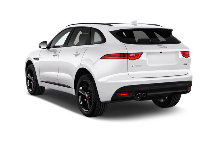 Jaguar F-PACE SUV AWD 3.0 V6 MHEV 400PS S 5Dr Auto [Start Stop] back view