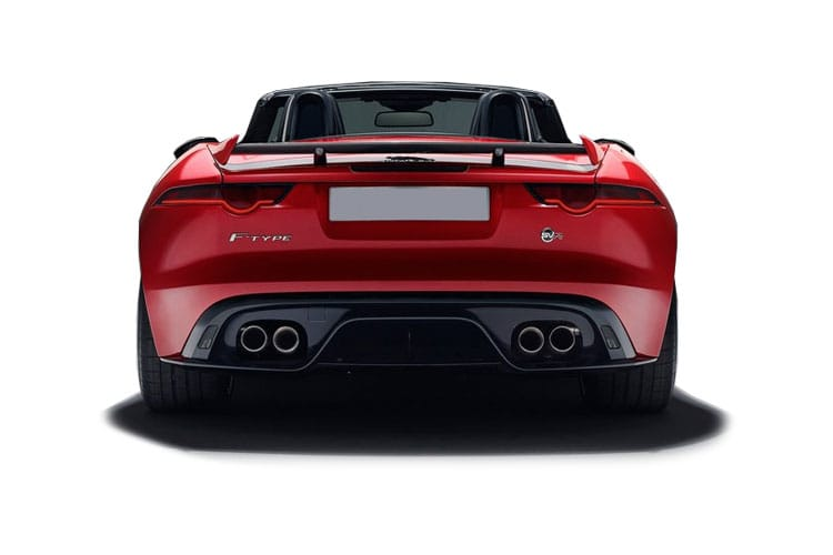 Jaguar F-TYPE Convertible 2.0 i 300PS R-Dynamic 2Dr Auto [Start Stop] back view