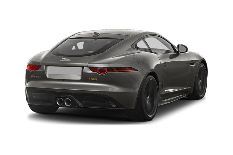 Jaguar F-TYPE Coupe 2.0 i 300PS R-Dynamic 2Dr Auto [Start Stop] back view