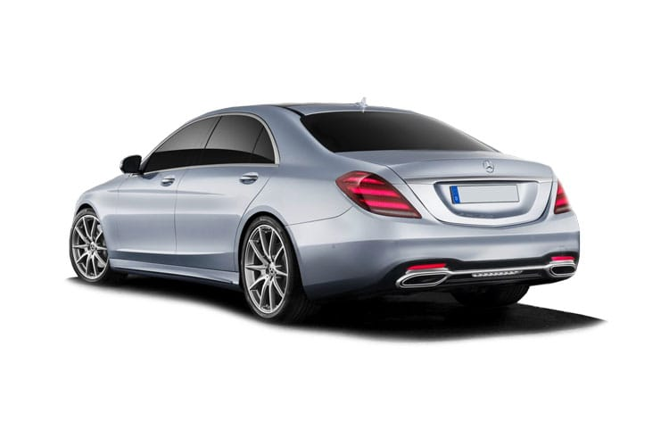 Mercedes-Benz S Class S500 Saloon 4MATIC 3.0 MHEV 435PS AMG Line Premium 4Dr G-Tronic+ [Start Stop] back view