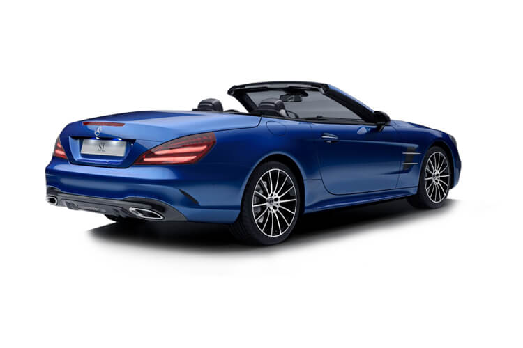 Mercedes-Benz SL SL500 Coupe Convertible 4.7 V8 455PS Grand Edition Premium 2Dr G-Tronic+ [Start Stop] back view