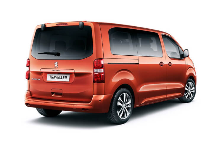 Peugeot Traveller Standard 5Dr 2.0 BlueHDi FWD 145PS Allure MPV Manual [Start Stop] [8Seat] back view