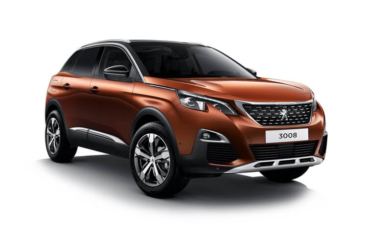 Peugeot 3008 SUV HYBRID 1.6 PHEV 13.2kWh 225PS GT Premium 5Dr e-EAT [Start Stop] front view