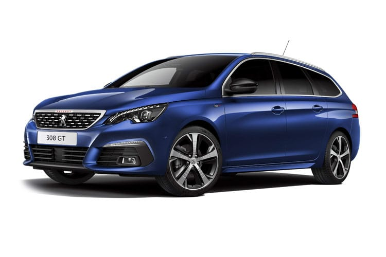 Peugeot 308 SW 5Dr 1.2 PureTech 110PS Allure 5Dr Manual [Start Stop] front view