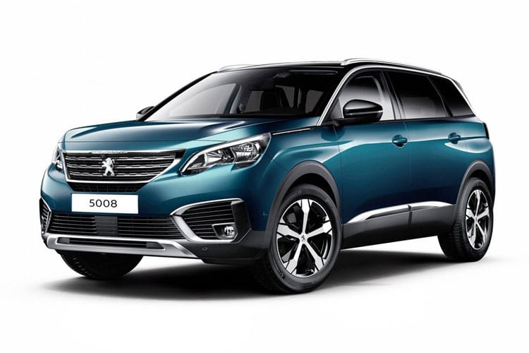 Peugeot 5008 SUV 1.5 BlueHDi 130PS Allure Premium 5Dr Manual [Start Stop] front view