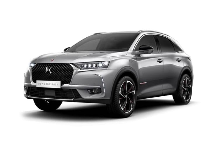DS Automobiles DS 7 Crossback SUV 5Dr 1.6 E-TENSE PHEV 13.2kWh 225PS Performance Line + 5Dr EAT8 [Start Stop] front view