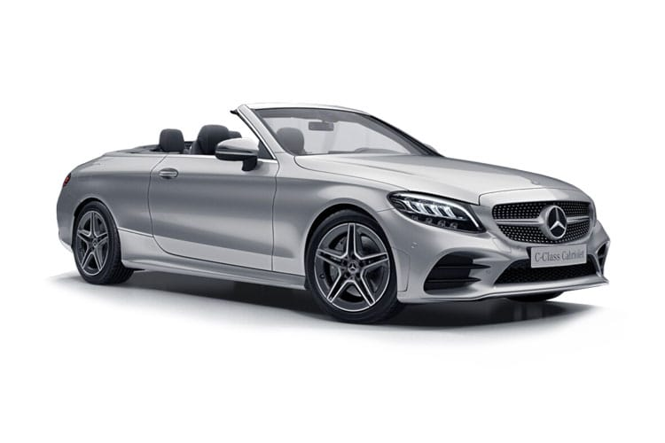 Mercedes-Benz C Class C220 Cabriolet 2.0 d 194PS AMG Line 2Dr G-Tronic+ [Start Stop] front view