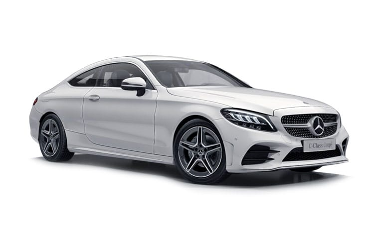 Mercedes-Benz C Class C220 Coupe 4MATIC 2.0 d 194PS AMG Line Premium Plus 2Dr G-Tronic+ [Start Stop] front view