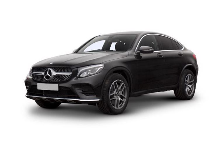 Mercedes-Benz GLC GLC300e Coupe 4MATIC 2.0 d PiH 13.5kWh 306PS AMG Line Premium 5Dr G-Tronic+ [Start Stop] front view