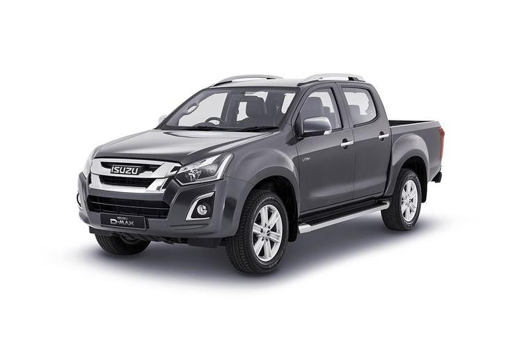 Isuzu D-MAX Pick Up 1.9 TD RWD 164PS Utility Pickup Manual front view