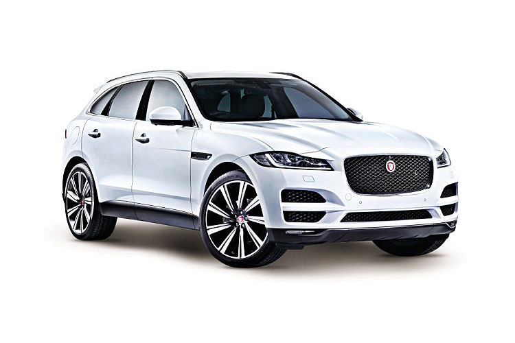 Jaguar F-PACE SUV AWD 3.0 V6 MHEV 400PS S 5Dr Auto [Start Stop] front view