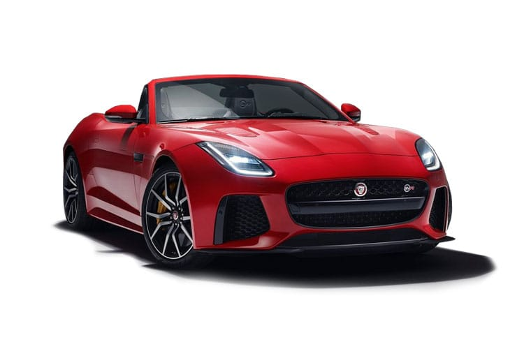 Jaguar F-TYPE Convertible AWD 5.0 V8 450PS R-Dynamic 2Dr Auto [Start Stop] front view