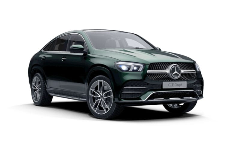Mercedes-Benz GLE GLE400 Coupe 4MATIC 3.0 d 330PS AMG Line Premium Plus 5Dr G-Tronic [Start Stop] front view