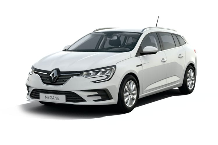 Renault Megane Sport Tourer 1.6 E-TECH PHEV 9.8kWh 160PS Iconic 5Dr Auto [Start Stop] front view
