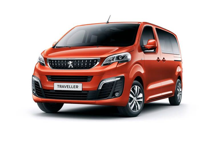 Peugeot Traveller Standard 5Dr 2.0 BlueHDi FWD 145PS Allure MPV Manual [Start Stop] [8Seat] front view