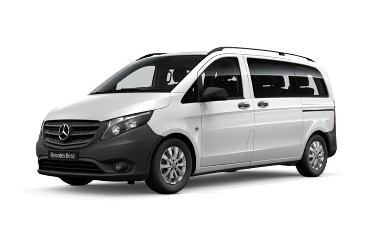 Mercedes-Benz Vito Tourer 110 L2 M1 FWD 1.7 CDi FWD 102PS PRO Minibus Manual [Start Stop] [9Seat] front view