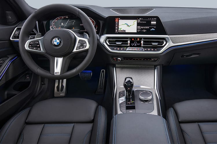 BMW 3 Series 330 Saloon 2.0 i 258PS M Sport Plus Edition 4Dr Auto [Start Stop] inside view