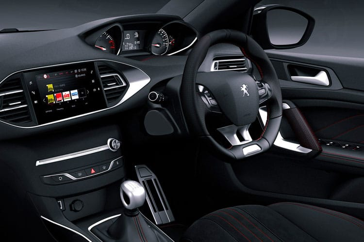 Peugeot 308 SW 5Dr 1.2 PureTech 110PS Allure 5Dr Manual [Start Stop] inside view