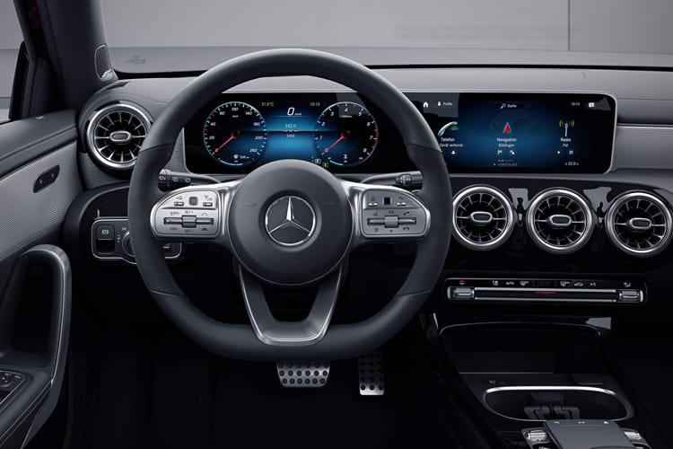 Mercedes-Benz A Class A250 Saloon 4Dr 2.0  224PS AMG Line Premium Plus 4Dr 7G-DCT [Start Stop] inside view