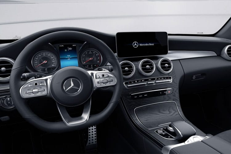 Mercedes-Benz C Class C220 Cabriolet 2.0 d 194PS AMG Line 2Dr G-Tronic+ [Start Stop] inside view
