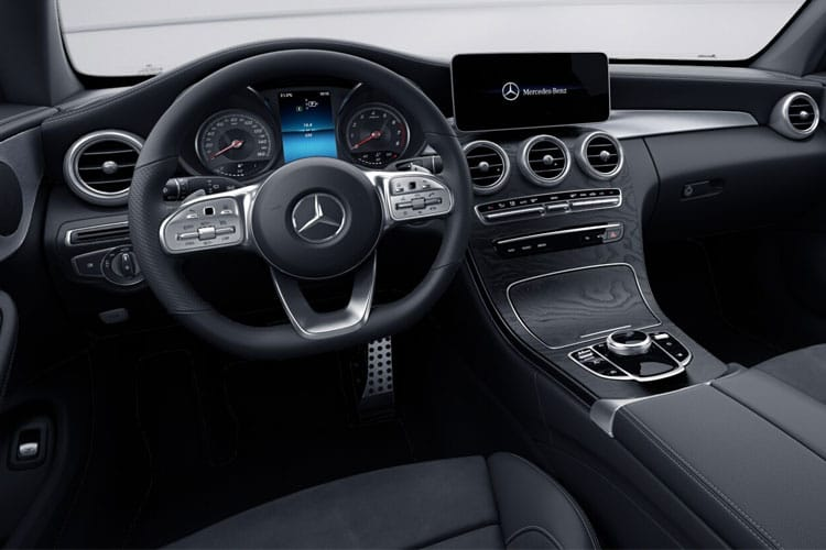 Mercedes-Benz C Class C220 Coupe 4MATIC 2.0 d 194PS AMG Line Premium Plus 2Dr G-Tronic+ [Start Stop] inside view