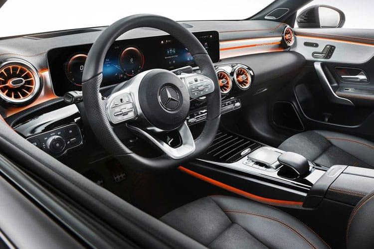 Mercedes-Benz CLA AMG CLA45 Coupe 4Dr 4MATIC+ 2.0  421PS S Plus 4Dr 8G-DCT [Start Stop] inside view