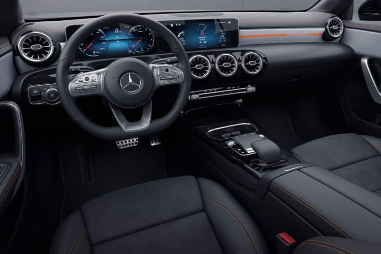 Mercedes-Benz CLA CLA220 Shooting Brake 2.0 d 190PS AMG Line 5Dr 8G-DCT [Start Stop] inside view