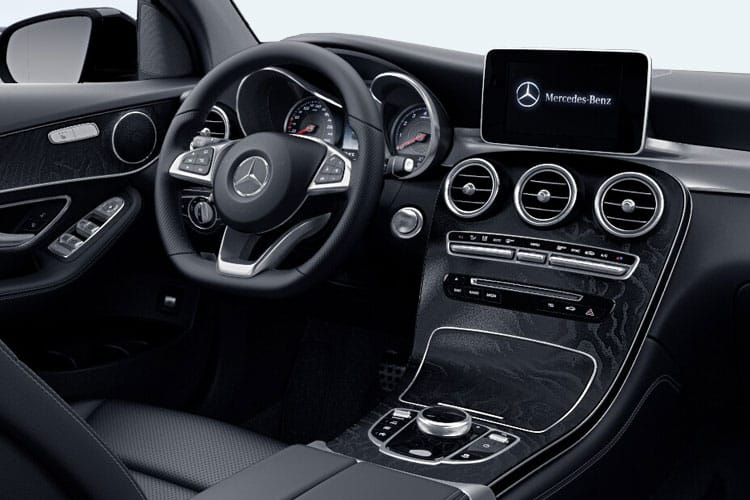 Mercedes-Benz GLC GLC300e Coupe 4MATIC 2.0 d PiH 13.5kWh 306PS AMG Line Premium 5Dr G-Tronic+ [Start Stop] inside view