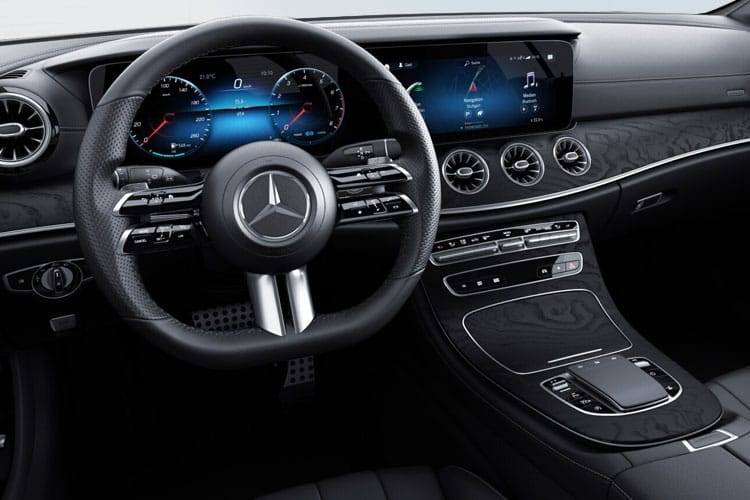 Mercedes-Benz E Class AMG E53 Coupe 4MATIC+ 3.0 MHEV BiTurbo 457PS Night Edition Premium Plus 2Dr SpdS TCT [Start Stop] inside view