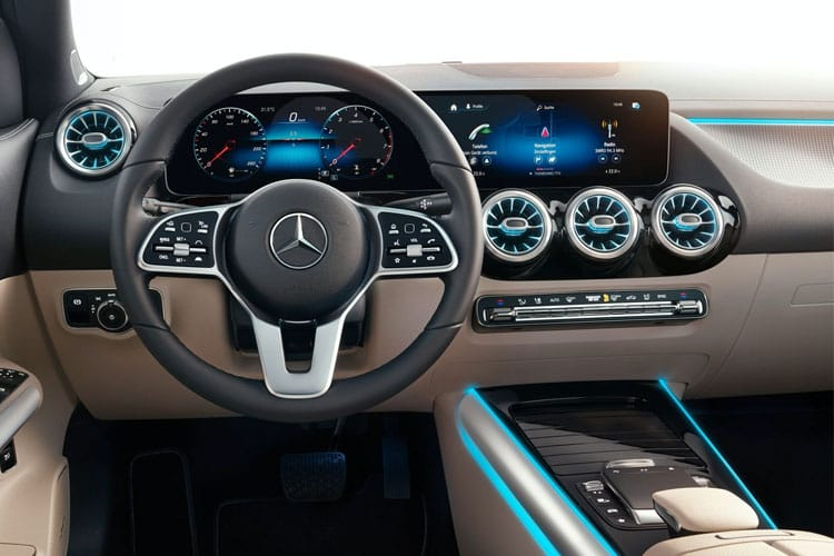 Mercedes-Benz GLA GLA180 SUV 1.3  136PS Sport Executive 5Dr 7G-DCT [Start Stop] inside view