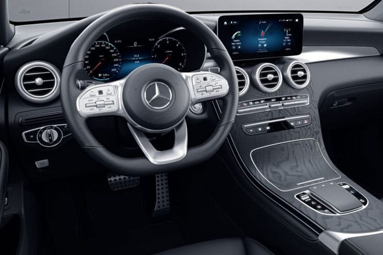 Mercedes-Benz GLC AMG GLC43 SUV 4MATIC 3.0 V6 390PS Premium Plus 5Dr G-Tronic+ [Start Stop] inside view