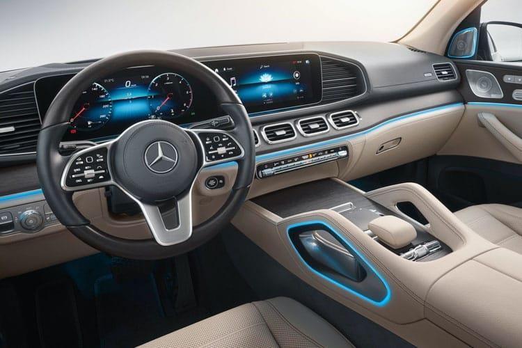 Mercedes-Benz GLS GLS400 SUV 4MATIC 3.0 d 330PS AMG Line Premium Plus 5Dr G-Tronic [Start Stop] [Executive] inside view