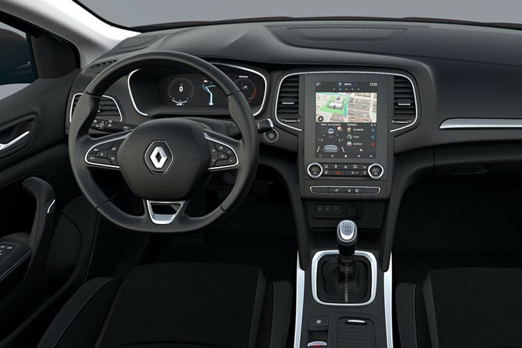 Renault Megane Sport Tourer 1.6 E-TECH PHEV 9.8kWh 160PS Iconic 5Dr Auto [Start Stop] inside view