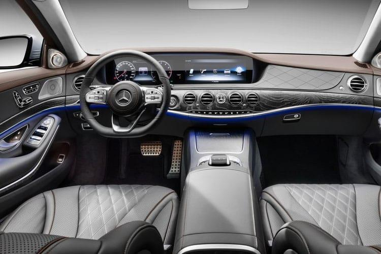 Mercedes-Benz S Class S500 Saloon 4MATIC 3.0 MHEV 435PS AMG Line Premium 4Dr G-Tronic+ [Start Stop] inside view