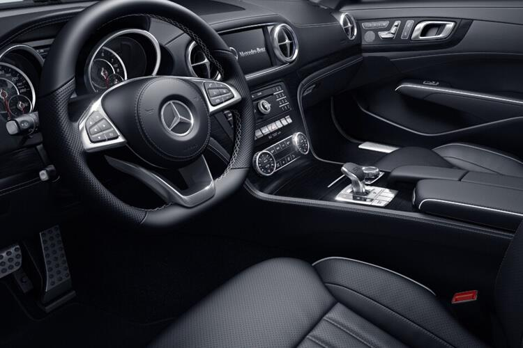 Mercedes-Benz SL SL500 Coupe Convertible 4.7 V8 455PS Grand Edition Premium 2Dr G-Tronic+ [Start Stop] inside view