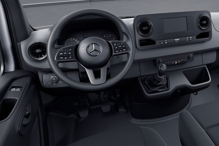 Mercedes-Benz Sprinter 316 L2 3.5t 2.1 CDi RWD 163PS Progressive Chassis Cab G-Tronic [Start Stop] inside view