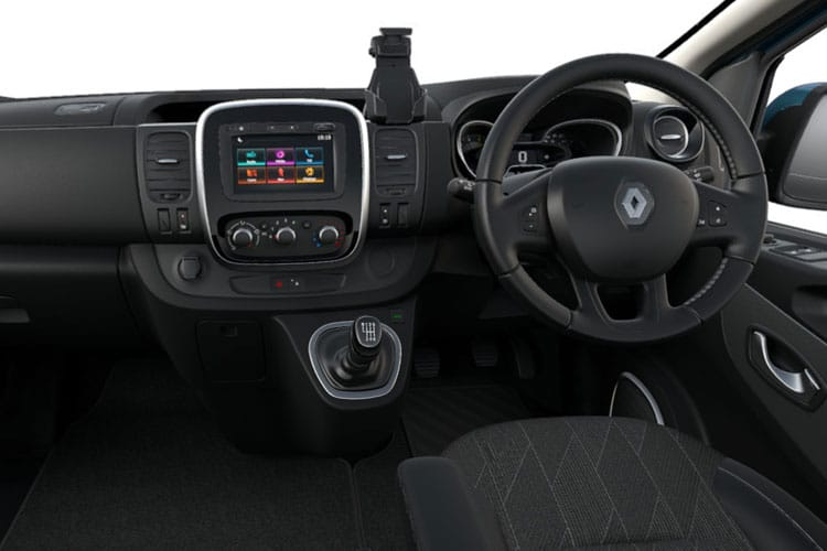 Renault Trafic 28 LWB MiniBus M1 2.0 dCi FWD 145PS SpaceClass Minibus Manual [Start Stop] [8Seat] inside view