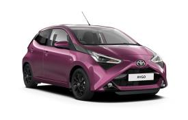 Toyota Aygo Hatchback Hatch 5Dr 1.0 VVTi 71PS x-clusiv Safety Sense 5Dr x-shift