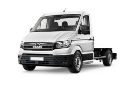 MAN TGE Chassis Cab 3.140 3.5t Long 4x4 2.0 d 4WD 140PS  Chassis Double Cab Manual [Start Stop]